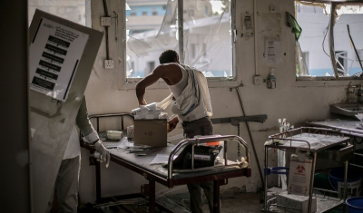 Yemen, MSF hospital destroyed by bombing