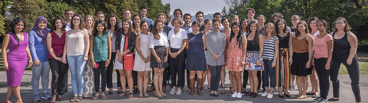 Group photo of 2016-2017 LLM students