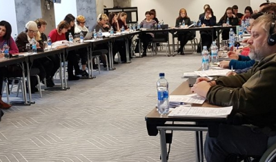 Workshop in Kiev on disability and armed conflict