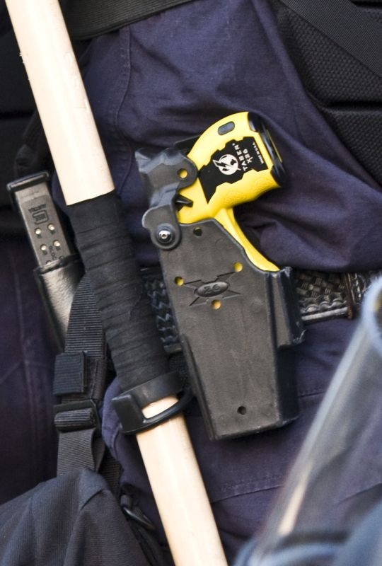 TASER of a police officer