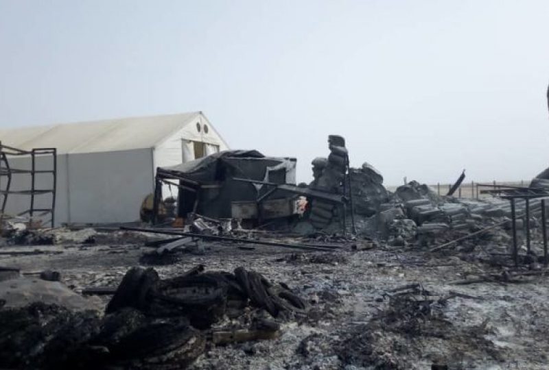 North Cameroon, Rann, Rann - Destroyed MSF buildings
