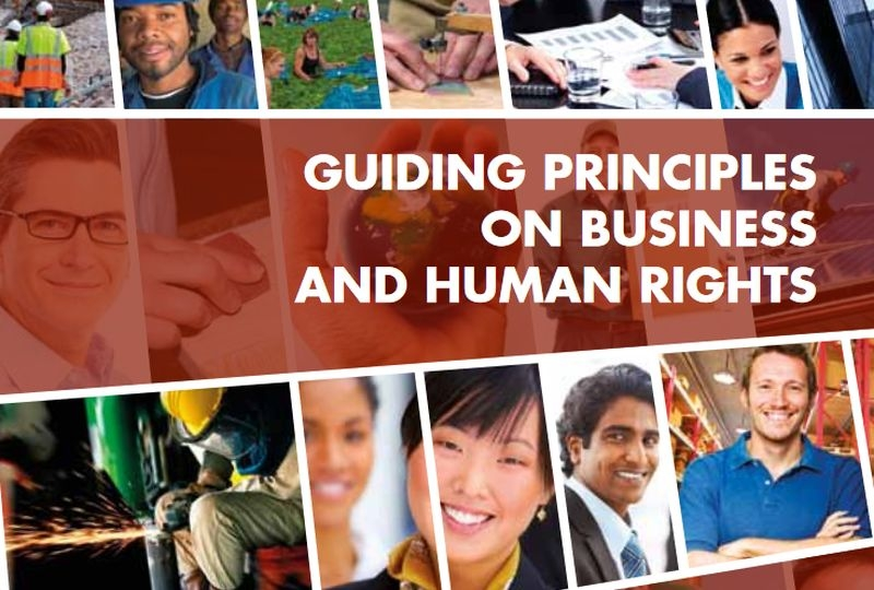 Cover page of the UN Guiding Principles on Business and Human Rights
