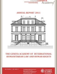 Cover of the Annual Report 2011