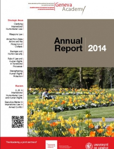 Cover of the Annual Report 2014