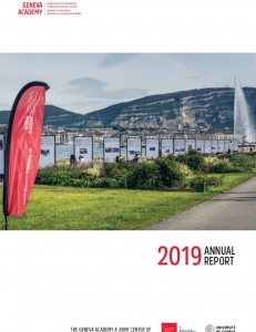 Cover page of the Annual Report 2019