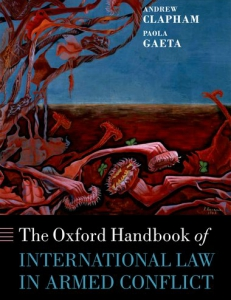 Cover of the book The Oxford Handbook of International Law in Armed Conflict