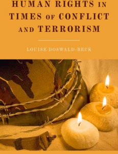 Cover of the book Human Rights in Times of Conflict and Terrorism