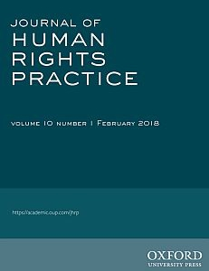Cover of the Journal of Human Rights Practice