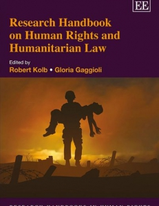 Cover of the book Research Handbook on Human Rights and Humanitarian Law, Cheltenham UK
