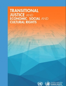 Cover of the book Transitional Justice and Economic, Social and Cultural Rights